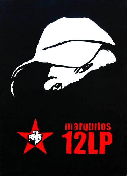 Comandate Marquitos, aerografo su tela, 70x50cm, 2009
