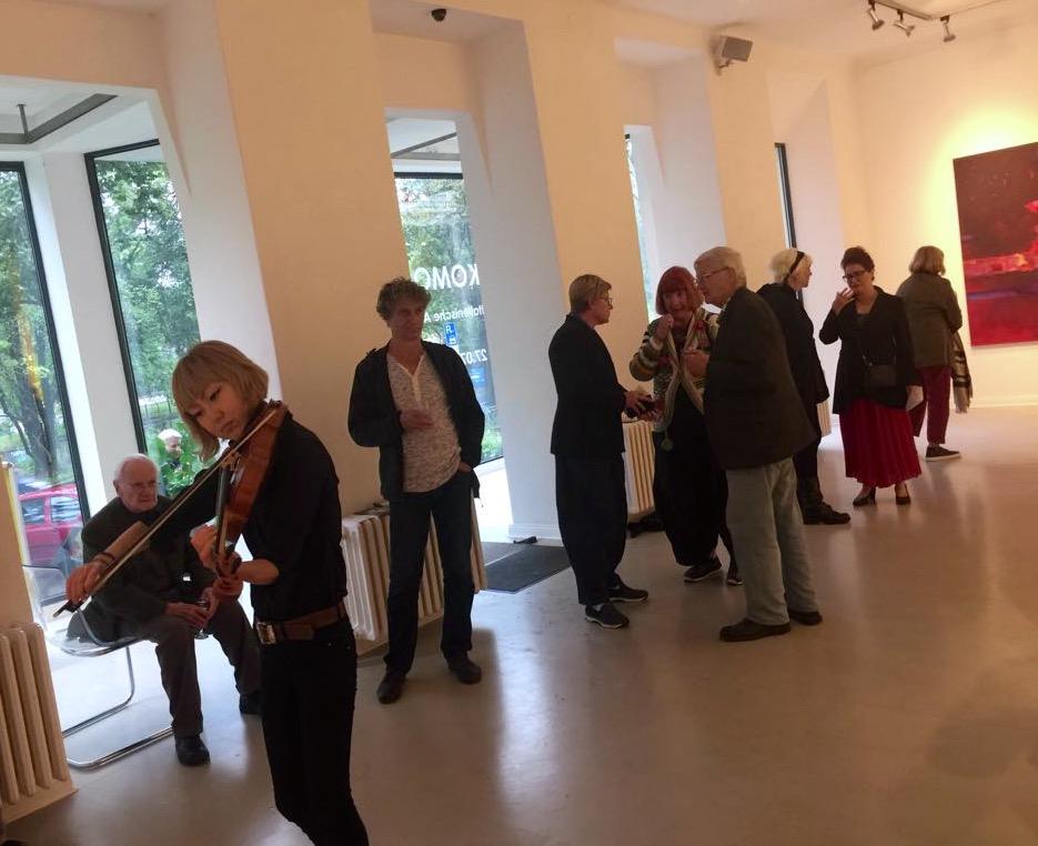Berlino: 2017_inaugurazione mostra