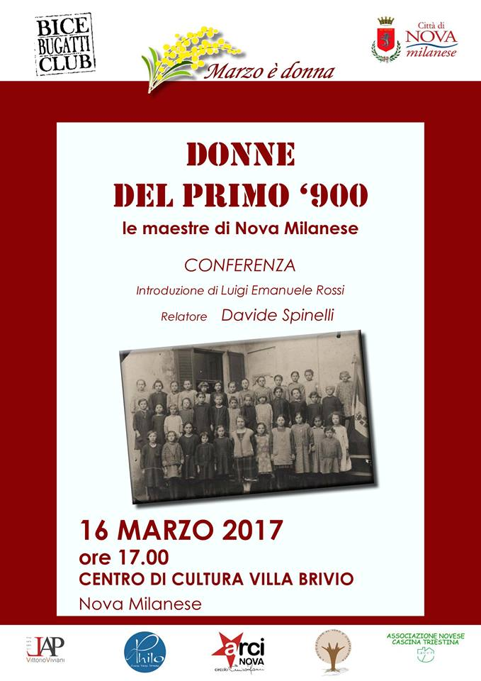 2017 - Donne del primo Novecento a Nova - marzo