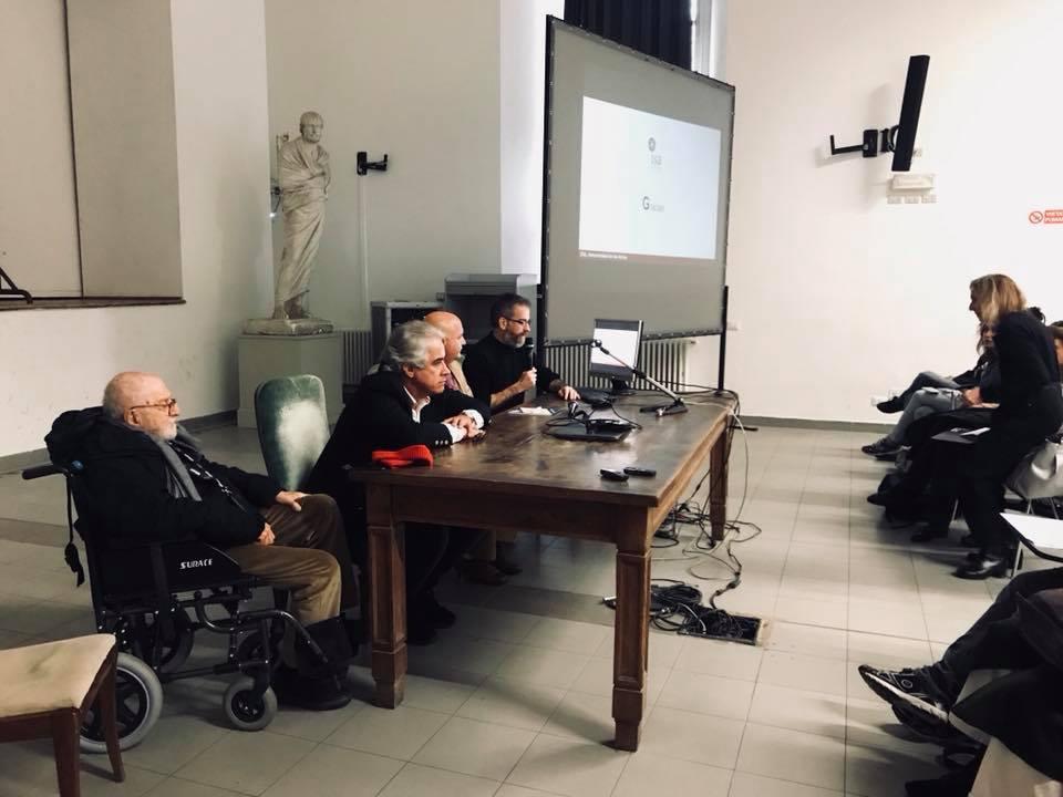 conferenza a Brera Fernandez Torres Alexis Seijo Garcia e Vittorio Garatti - 15 3 18